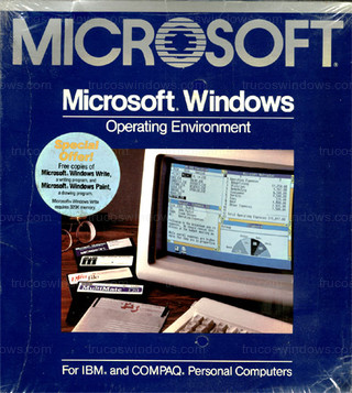 Windows 1.01 - Caja original