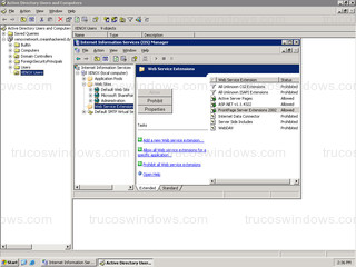 Windows Server 2003 - Internet Information Services (IIS)