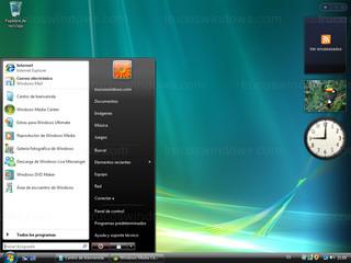 Windows Vista - Menú de Inicio