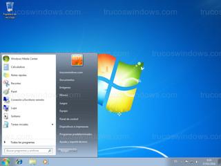 Windows 7 - Menú de inicio