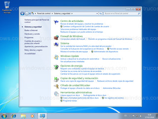 Windows 7 - Sistema y seguridad