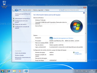 Windows 7 - Sistema
