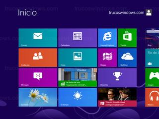 Windows 8 - Interfaz Metro
