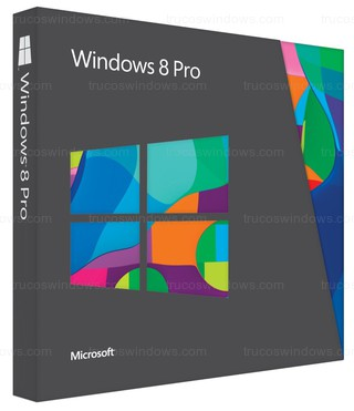 Windows 8 - Caja Windows 8 Pro