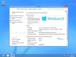 Windows 8 - Sistema