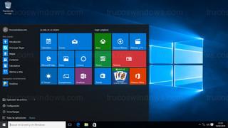 Windows 10 - Menú de Inicio