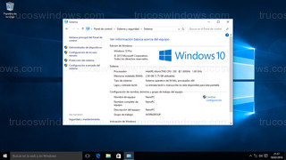 Windows 10 - Sistema