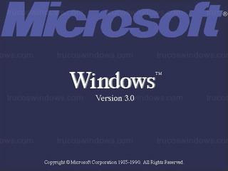 Windows 3.0 - Arranque