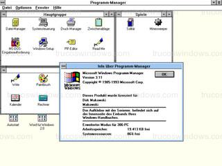 Windows 3.11 - Programm-Manager