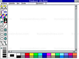 Windows 3.1 - Paintbrush
