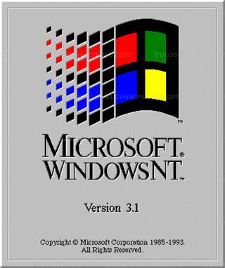 Windows NT 3.1 - Arranque