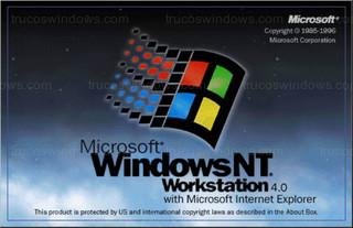 Windows NT 4 - Arranque