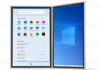 Windows 10X - Menú de Inicio