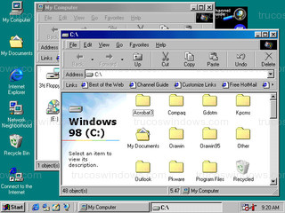 Windows 98 - MiPC - C: