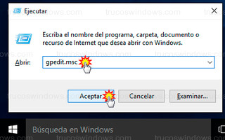 Windows 10 - gpedit.msc