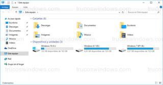 Windows 10 - Explorador de archivos con arranque en este equipo