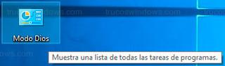 Windows 10 - Acceso a modo Dios