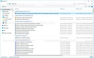 Windows 10 - Categorías modo Dios