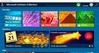 Windows 10 - Solitarios