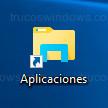 Windows 10 - Icono acceso directo
