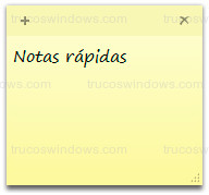 Windows 10 - Notas rápidas