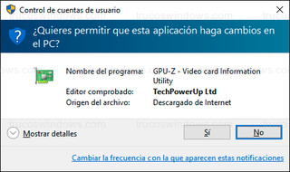 Windows 10 - Control de cuentas de usuario (UAC)