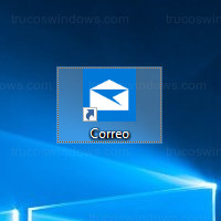 Windows 10 - Acceso directo a la App correo