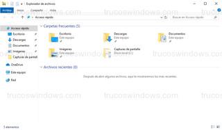 Windows 10 - Explorador de archivos