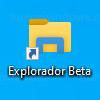 Acceso directo - Explorador de archivos beta
