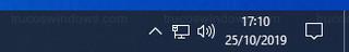 Reloj de Windows - Formato de fecha corta