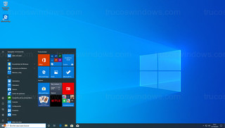Windows 10 - Menú de Inicio pequeño