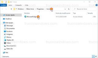 Windows 10 - Programas de Inicio