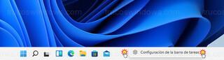 Windows 11 - Configuración de la barra de tareas