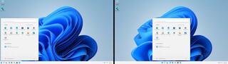 Windows 11 - Nueva barra de tareas flotante