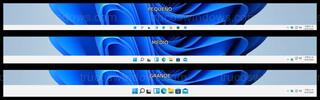 Windows 11 - Tamaño de la barra de tareas