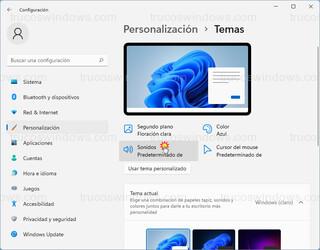 Temas - Sonidos Predeterminados de Windows