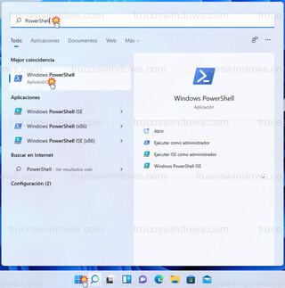 Windows 11 - PowerShell