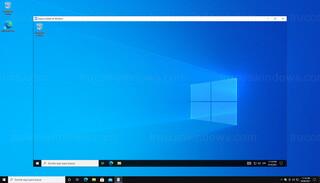 Windows - Ventana del espacio aislado de Windows