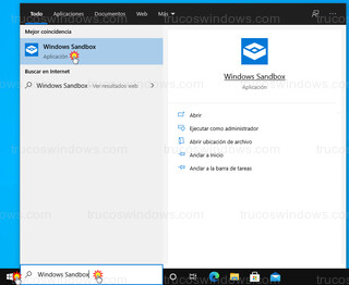 Windows - Windows Sandbox