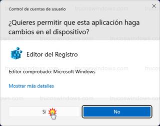 Windows 11 - Control de cuentas de usuario