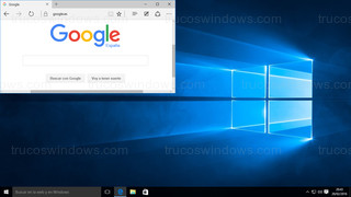 Windows 10 - Ventana posición arriba a la izquierda