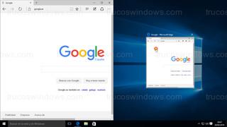 Windows 10 - Ventana posición izquierda con vista miniatura
