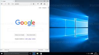 Windows 10 - Ventana posición izquierda
