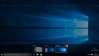Windows 10 - Quitar escritorio virtual
