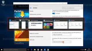 Windows 10 - Ventanas de todos los escritorios virtuales