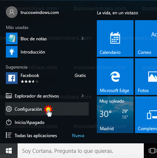 Windows 10 - Configuración