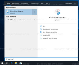 Windows 10 - Buscar con tecla Windows del teclado