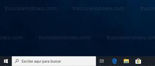 Windows 10 - Cuadro de búsqueda de Windows 10