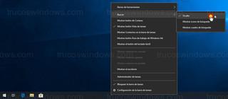 Windows 10 - Ocultar búsqueda