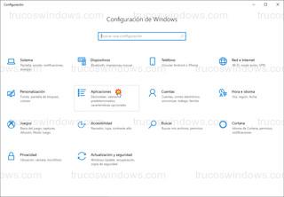 Windows 10 - Aplicaciones